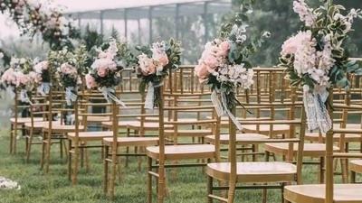 30多款婚礼中常用的椅子,你都认识几款?