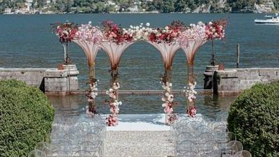 俄罗斯本季最具创意户外婚礼设计,了解一下?