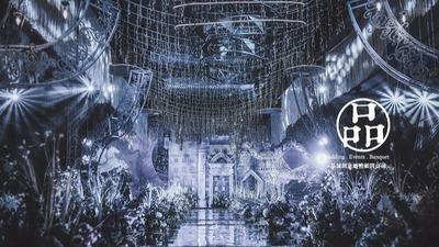 冰蓝童话主题婚礼