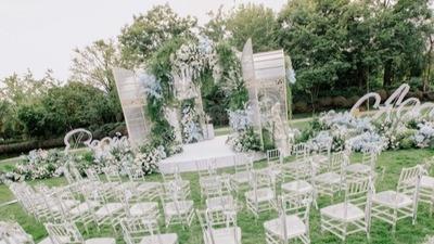 户外花园风婚礼