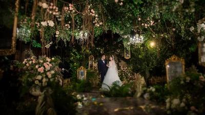森系复古婚礼