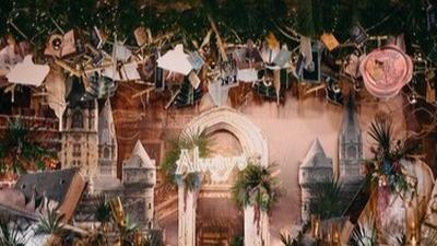 哈利波特主题婚礼