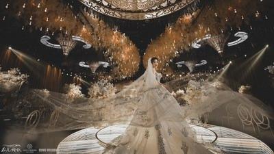 巴洛克欧式浪漫主义风格婚礼