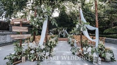 解锁隐秘的百年民国院落,办一场有细节感的户外婚礼