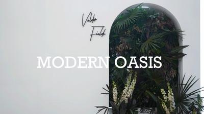 新摩登艺术风婚礼:绿洲Modern Oasis