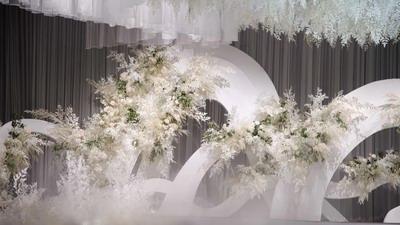这场白色婚礼——做到了奢华与简约共存