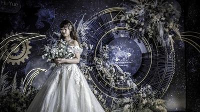 """神秘浪漫的蓝色婚礼,""""宇宙情诗""""诉说着宇宙之初的Romantic"""