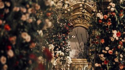 遇到你之后,这场欧式复古婚礼,早就想摆满蔷薇等你