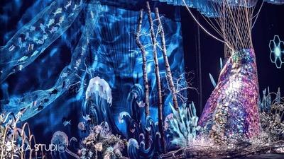 蓝色的海底世界,充满奇迹的婚礼,童话让我遇到了你