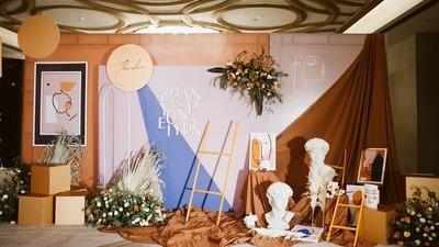 艺术设计主题婚礼
