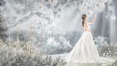 梦幻婚礼:低眉春已逝,抬头夏伊始