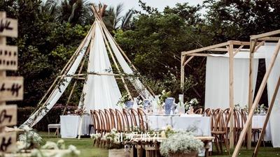 因为这场净塑婚礼,我们把环保可持续列入2020年及以后婚礼装饰核心关键趋势