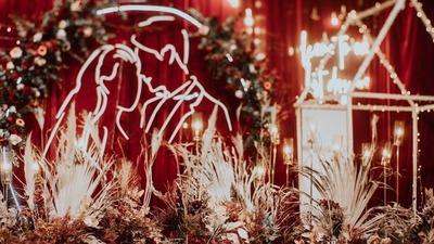 中国红婚礼