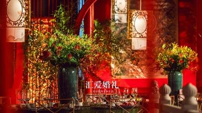 中式宫廷和英式花园,这场中西结合的婚礼,满足了对气质婚礼的所有想象
