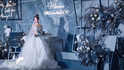 一场关于蓝色的艺术创想婚礼