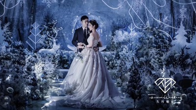 冰雪奇缘婚礼 | 银装素裹只为拥你入怀