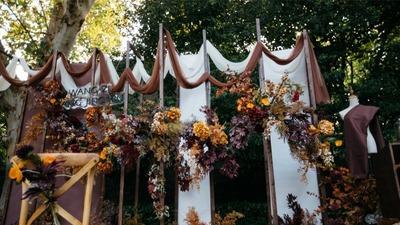 一场充满仪式感的户外婚礼