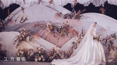 时光沙漏主题婚礼