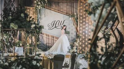 森系质感婚礼