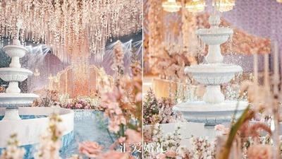 CBA张春军婚礼,芳醇时光,编织你珍藏的柔情