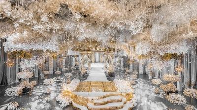 香槟金色婚礼作品