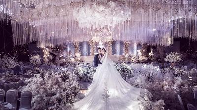 淡紫色主题婚礼