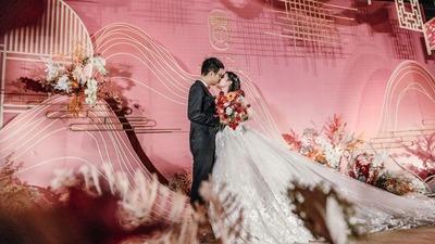 一场两辈人都钟意的中式婚礼