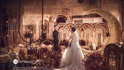 复古欧式婚礼  | 一生最美的场景,莫过于遇见你