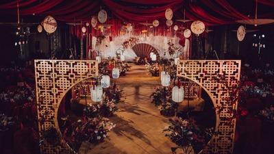 热烈浓郁的中式婚礼,在最好的年纪遇见你