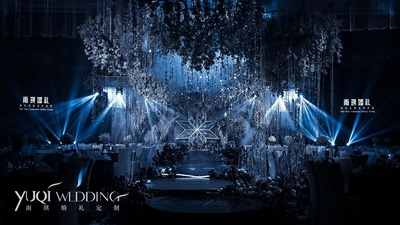 星河呓语,初雪时见你,蓝色冰雪婚礼