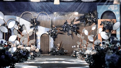 看看这场婚礼设计里有多少幅梵高名画?艺术气息浓厚的婚礼