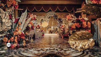 复古宫廷风,时下最in的婚礼