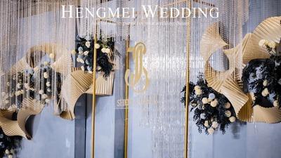 高颜值新娘和她的梦幻蓝色婚礼!
