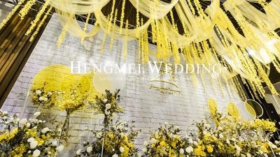 明媚的黄,婚礼颜色更要美
