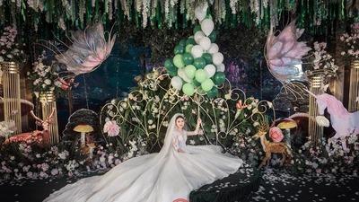蝴蝶主题婚礼