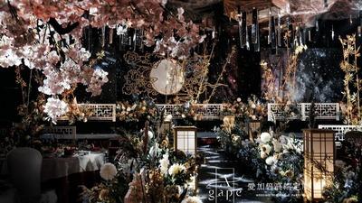 在星空下展现中华古典的韵味之美,中式古典婚礼