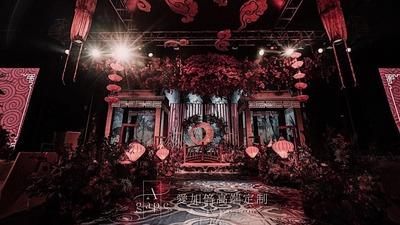 杳霭祥云的中式婚礼,带你梦回唐朝盛世