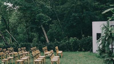 时尚博主董小姐的庭院婚礼,每个细节都在展现品味