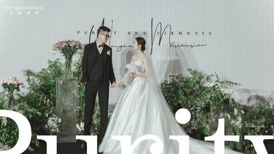极简韩式婚礼 | 化繁为简,赠予你最纯粹、最坚定的爱