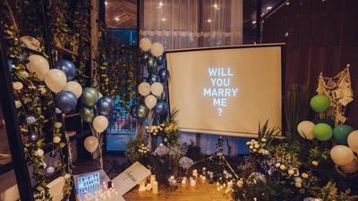 精心布置朋友生日宴,最后发现是自己的求婚