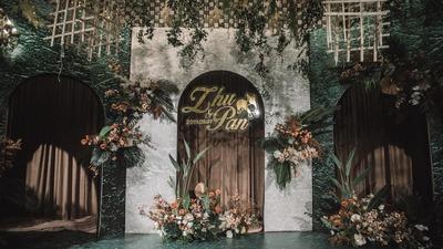 """赠你一场梦幻森林婚礼的浪漫爱情,从""""心翼""""开始。"""