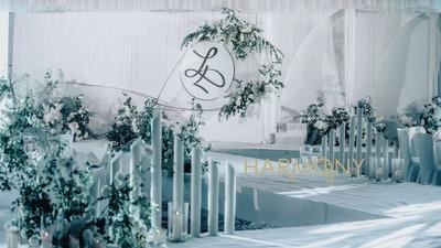 微风拨动繁星成永恒的宝可梦,满足童话梦的主题婚礼