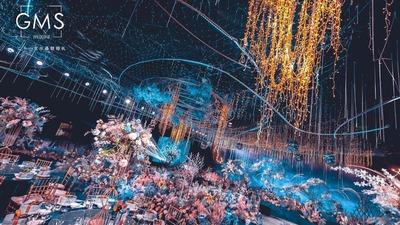 星空下的花园,星空下的蓝色婚礼