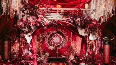 长长久久的中式婚礼,盘长元素满满的寓意