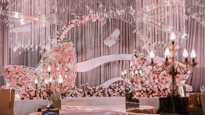 粉色高级婚礼,不是少女心也可以办粉色婚礼