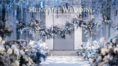 高先生+盛小姐的蓝色梦幻婚礼