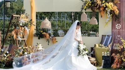 几何元素户外婚礼