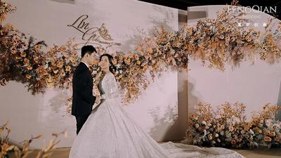从豆蔻到华发,成就最好的年华,秋天的莫兰迪色调婚礼