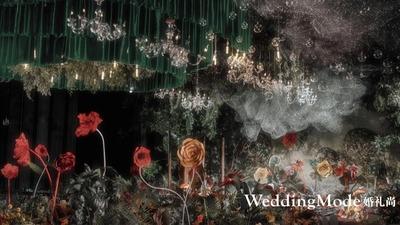 和你看日出日落,做一场妙不可言的白日梦,爱丽丝的森系婚礼