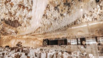 香槟金系婚礼